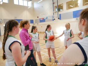 Tyndall College's U-16 Girls' Basketball Team